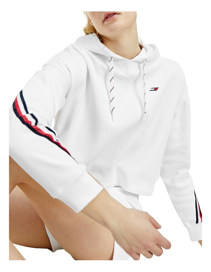 Performance Relaxed Double Pique Long Sleeve Hoodie image 1