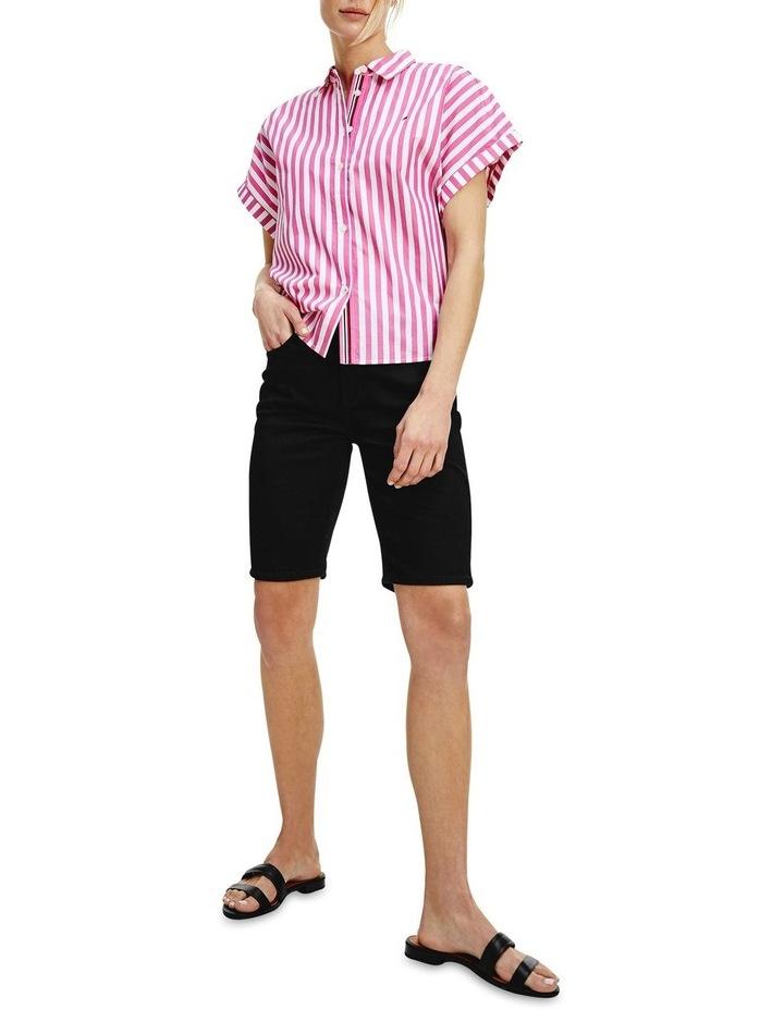 Co Stripe Short Sleeve Relaxed Shirt image 1