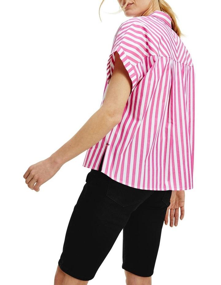 Co Stripe Short Sleeve Relaxed Shirt image 2