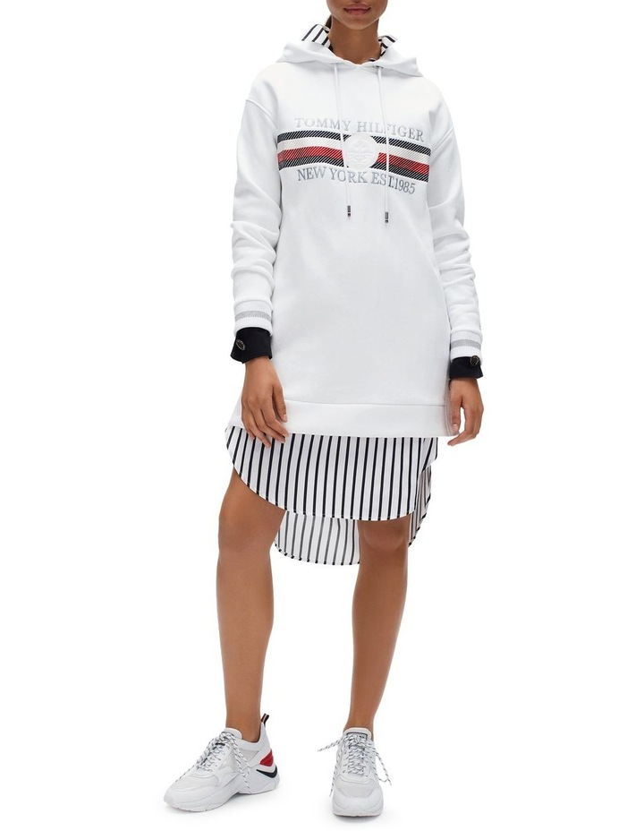 Icon Hooded Long Sleeve Dress image 1