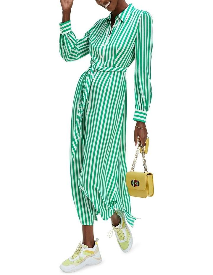 Viscose Long Shirt Dress Long Sleeve image 1