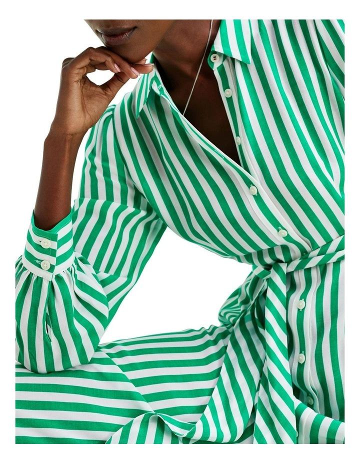 Viscose Long Shirt Dress Long Sleeve image 3