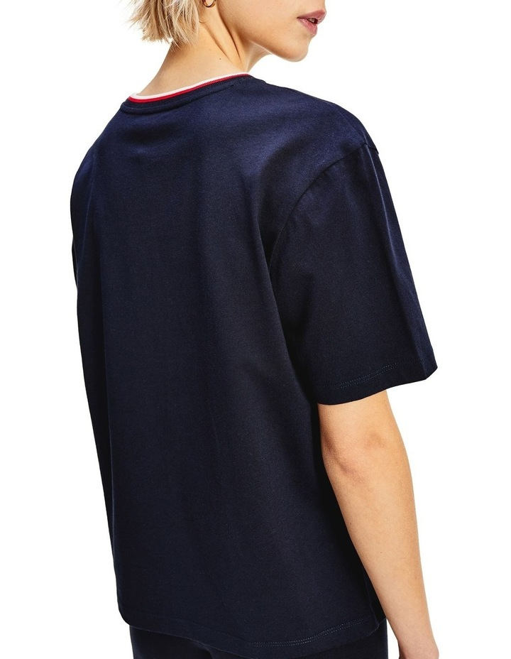Carly Relaxed Crew Neck Top Short Sleeve image 3
