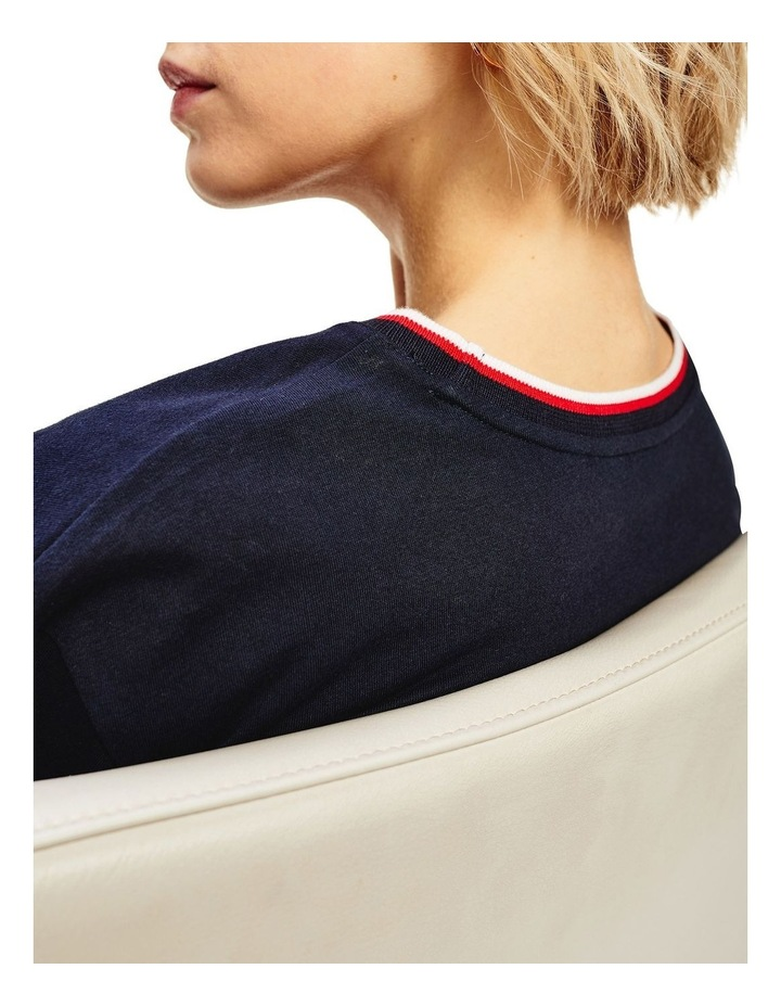 Carly Relaxed Crew Neck Top Short Sleeve image 5