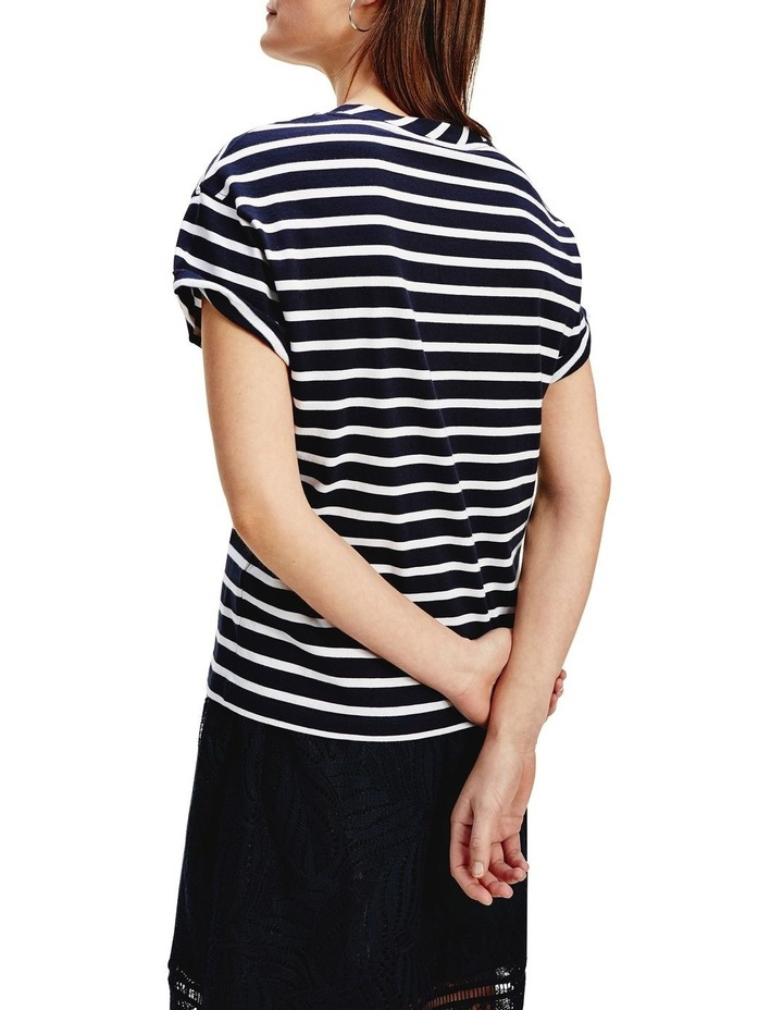 Corp Logo Relaxed Crew Neck Top Short Sleeve image 2