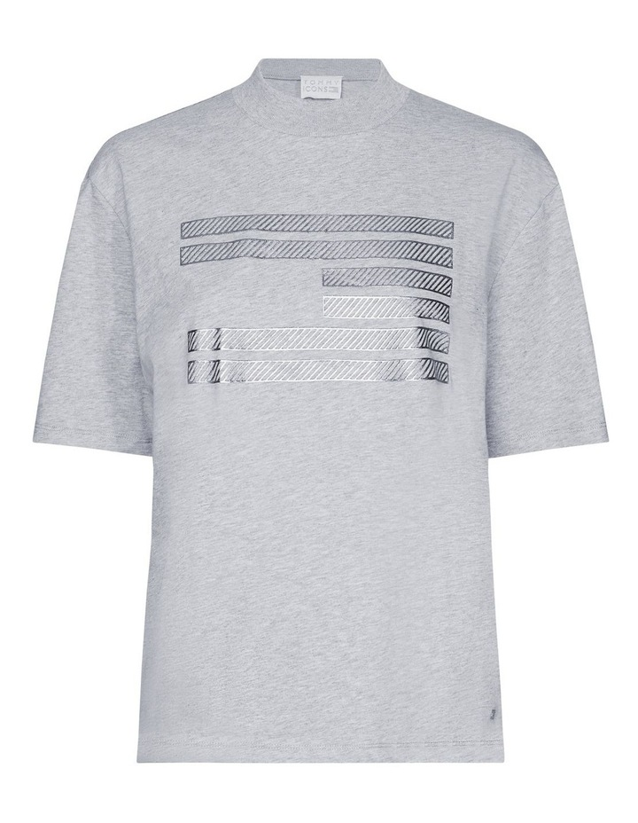 Tommy Icons Metallic Relaxed Fit T-Shirt image 4