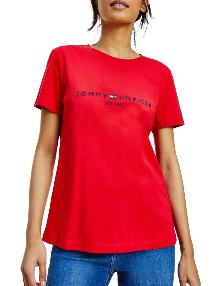 Essential Embroidery Organic Cotton T-Shirt image 1