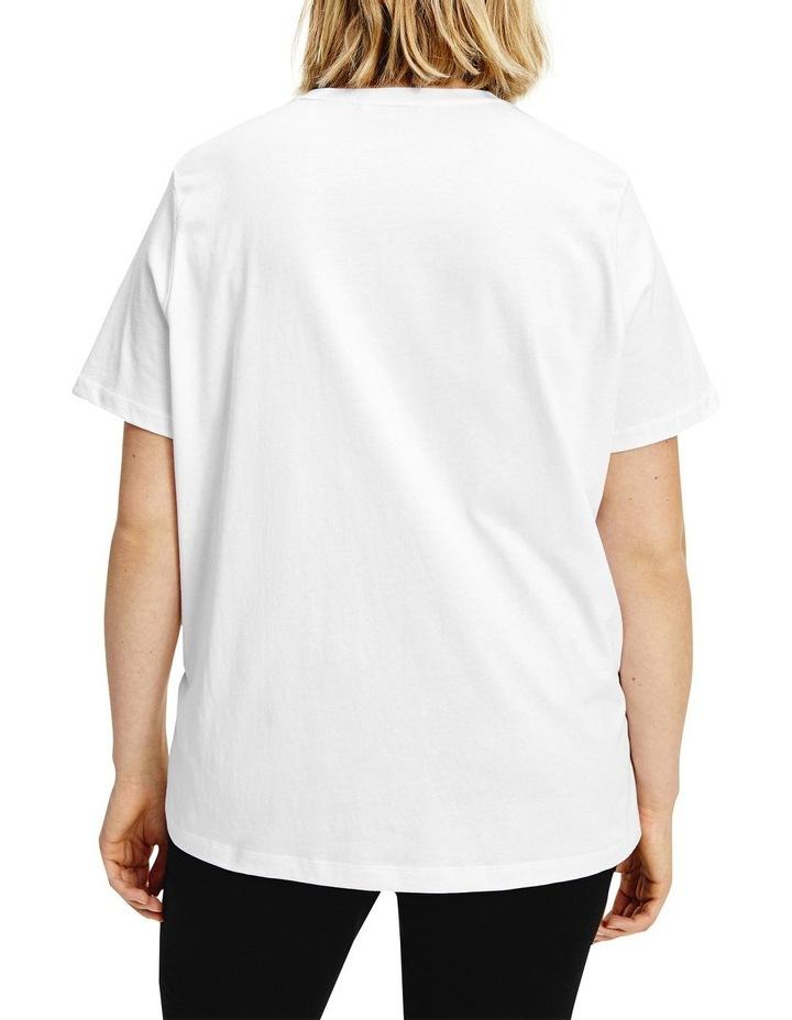 Curve Regular Hilfiger Crewneck Short Sleeve Tee image 2