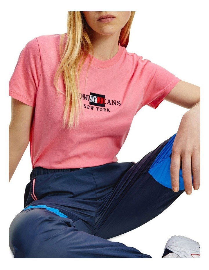 Timeless Tommy 2 Crew Neck Tee Pink image 1