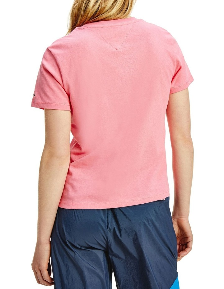 Timeless Tommy 2 Crew Neck Tee Pink image 2