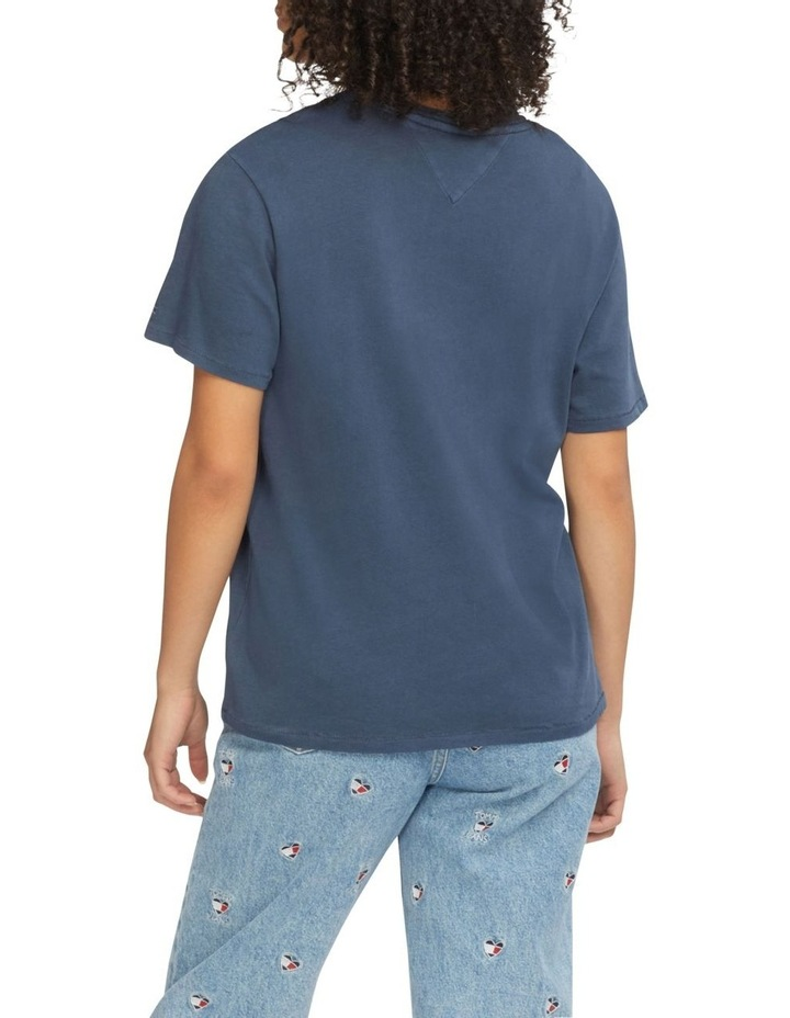 Repeat Logo Relaxed Fit T-Shirt Twilight Navy image 2