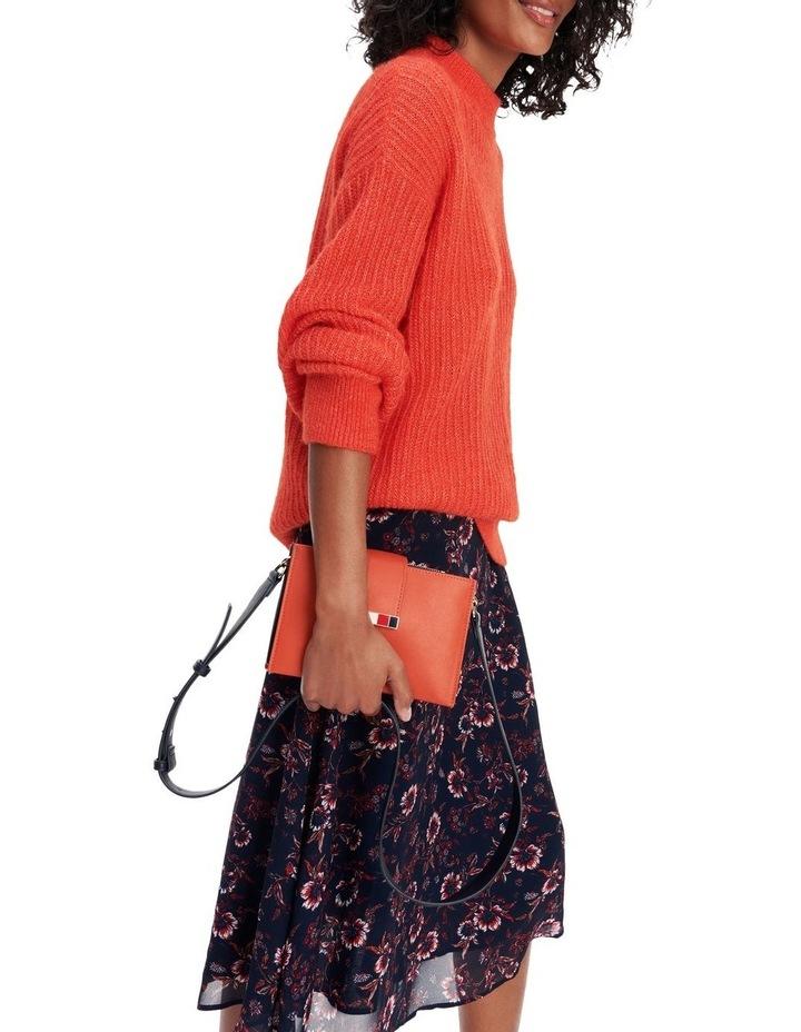 Viscose Floral Knee Length Skirt image 3