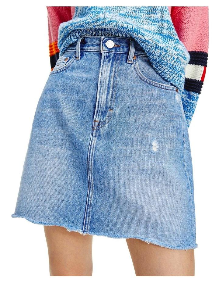 Mom Denim Skirt image 3