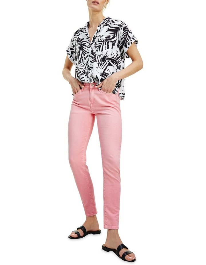 Venice Slim RW A Washed Jeans image 1