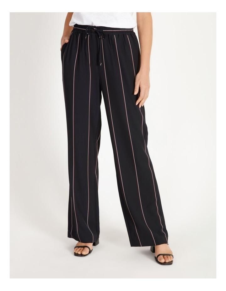 Wide Leg Striped Pants image 1