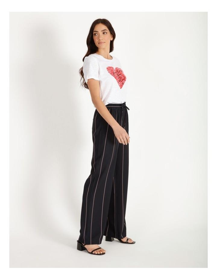 Wide Leg Striped Pants image 2