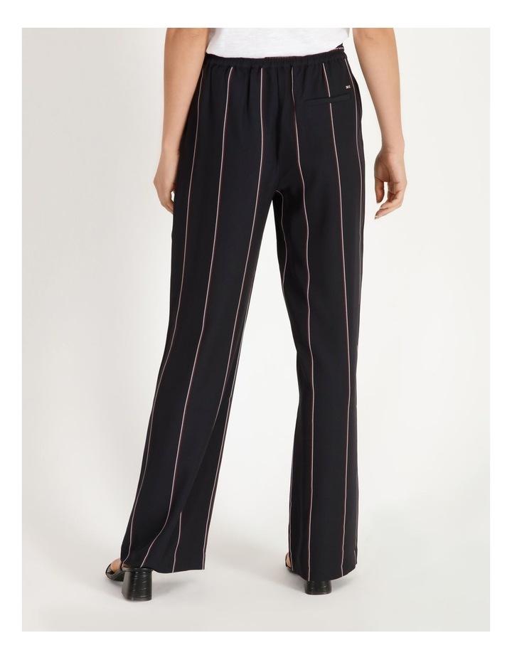 Wide Leg Striped Pants image 3