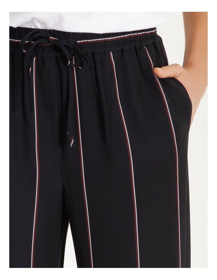 Wide Leg Striped Pants image 4