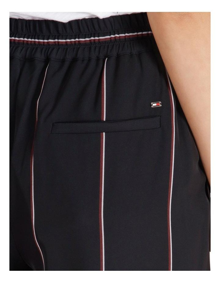 Wide Leg Striped Pants image 5