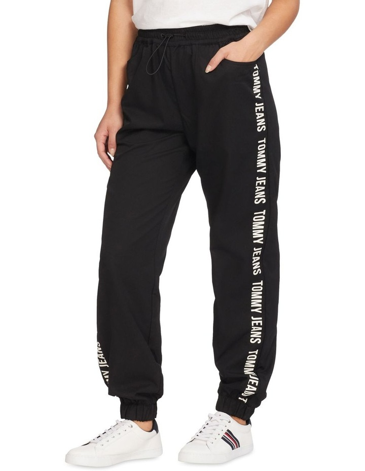 Repeal Logo Tape Black Relaxed Fit Joggers image 1
