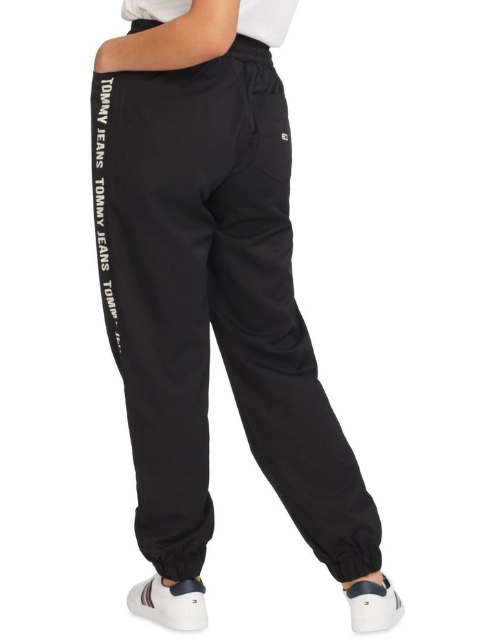 Repeal Logo Tape Black Relaxed Fit Joggers image 2