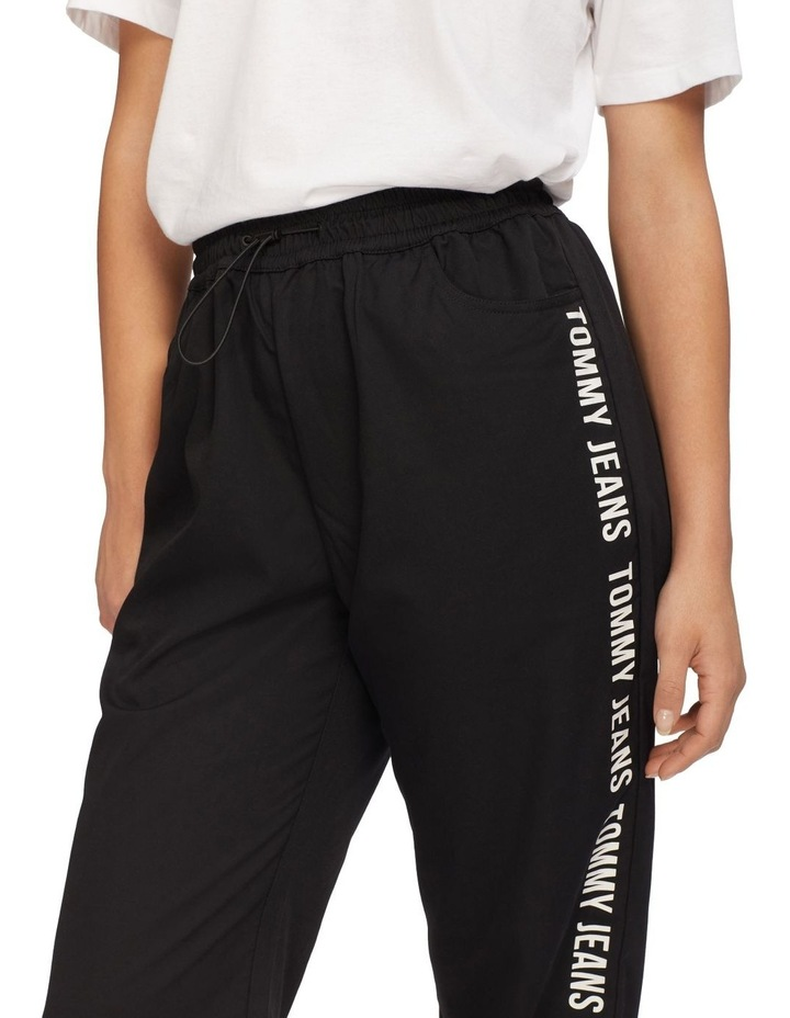 Repeal Logo Tape Black Relaxed Fit Joggers image 3