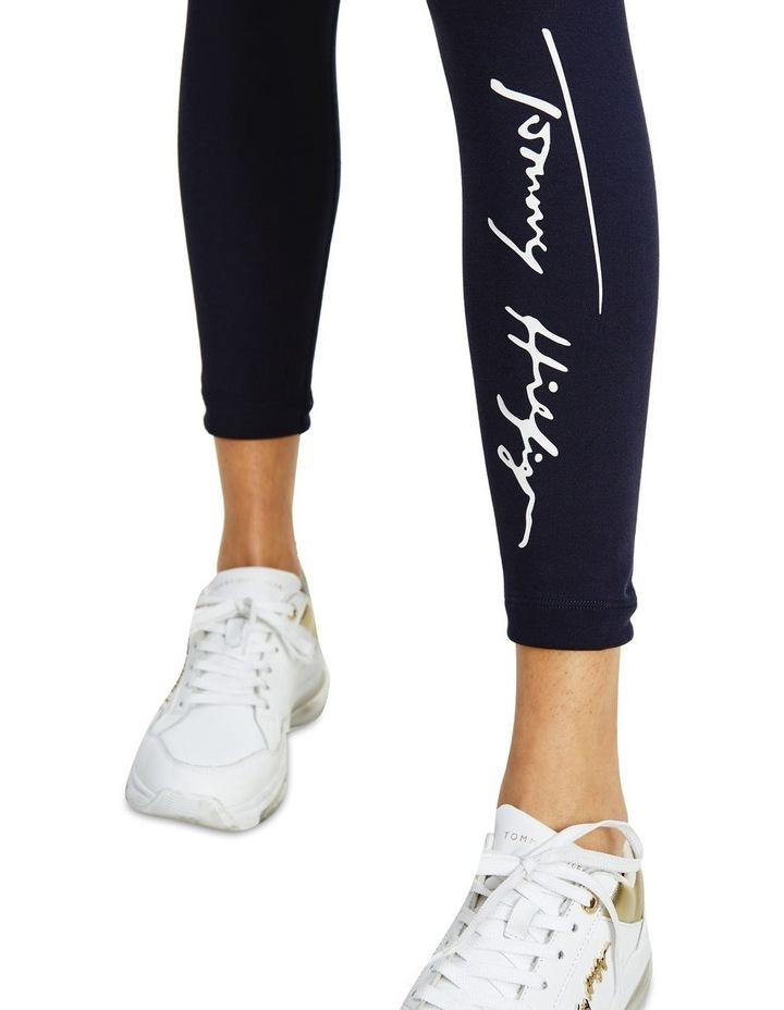 Stretch Script Legging image 3