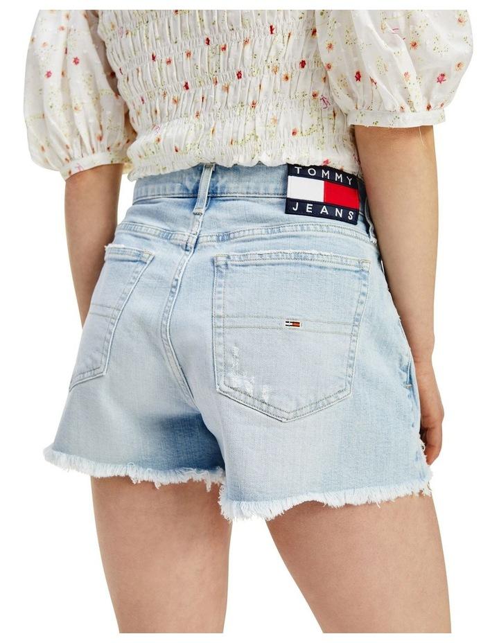Tommy Badge Distressed Denim Hotpants image 2