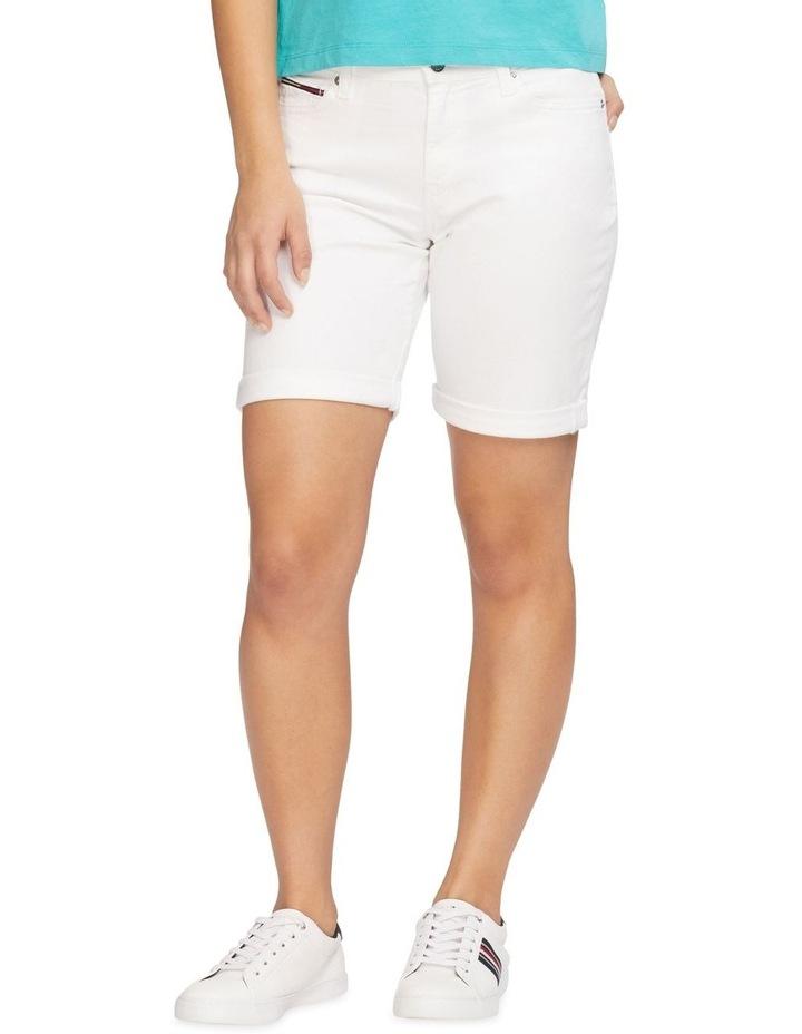 Mr Denim Bermuda Shorts Optic White image 1