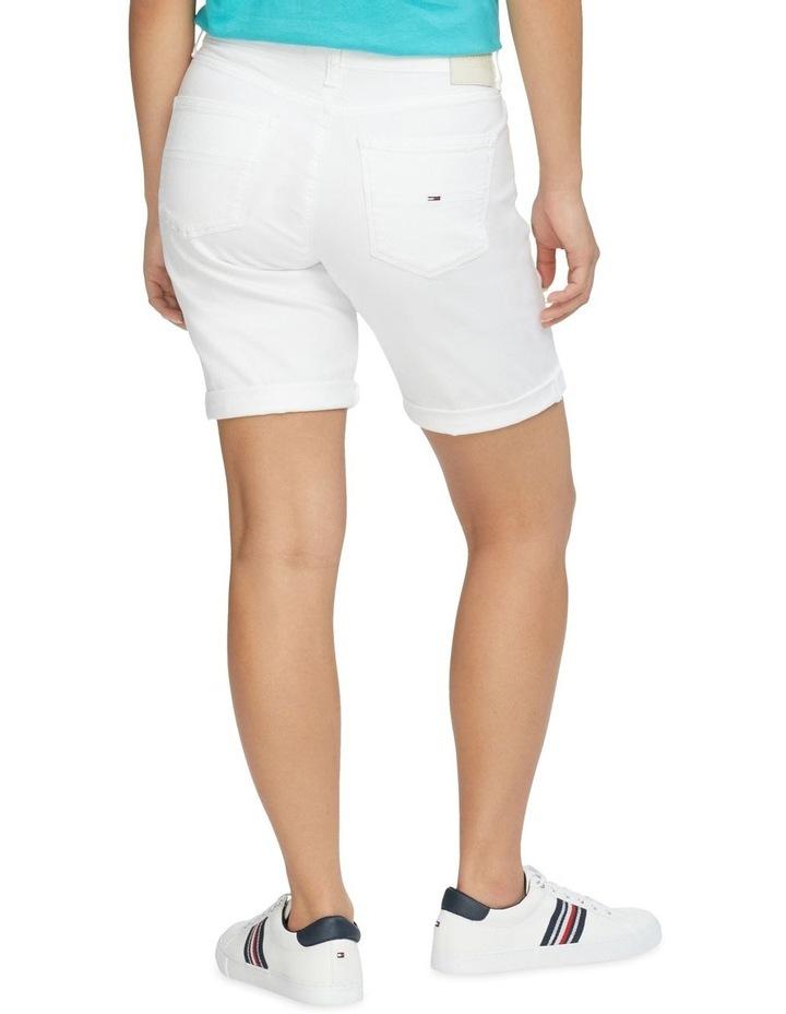 Mr Denim Bermuda Shorts Optic White image 2