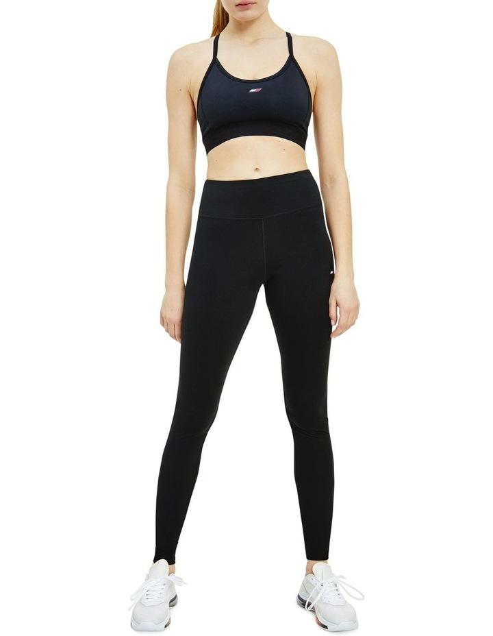 Sport TH Cool Mid Rise Leggings Black image 1
