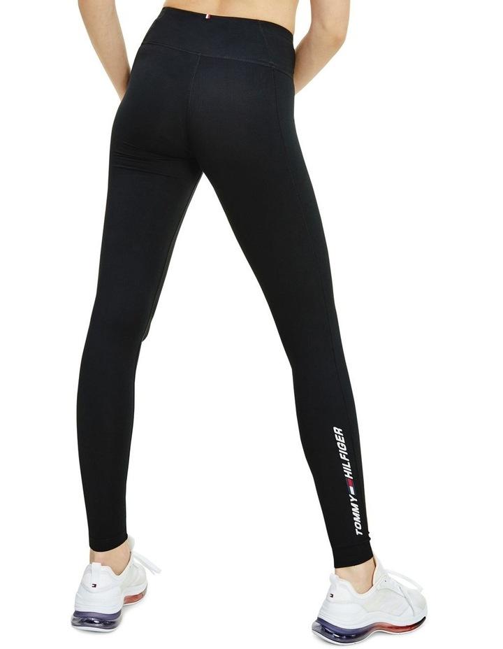 Sport TH Cool Mid Rise Leggings Black image 2