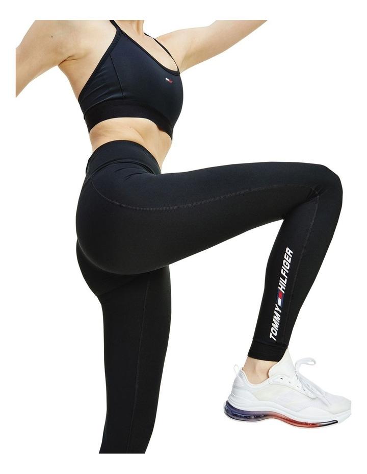 Sport TH Cool Mid Rise Leggings Black image 3