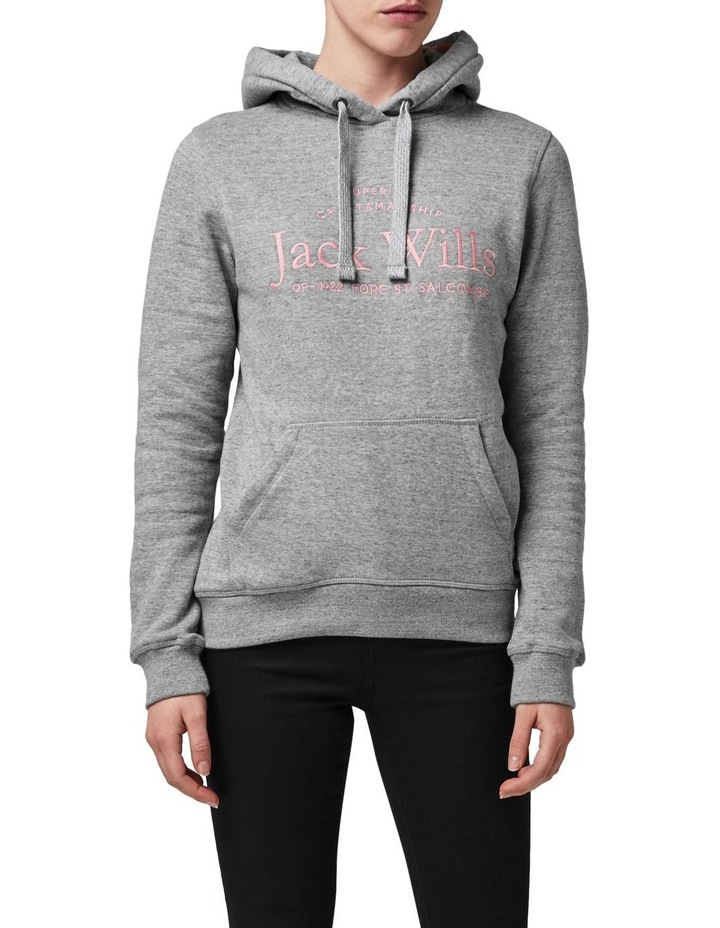 Hunston Embroidered Graphic Hoodie image 1