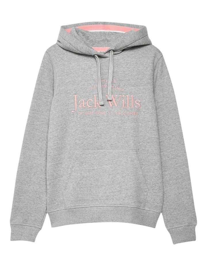 Hunston Embroidered Graphic Hoodie image 5