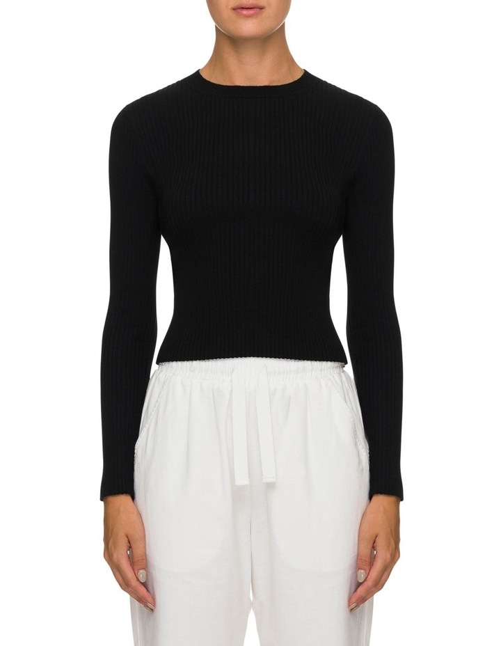 Nude Classic Knit Black image 1