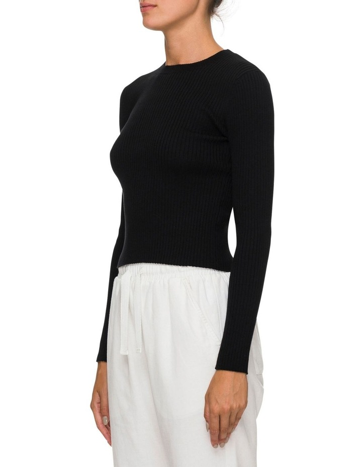 Nude Classic Knit Black image 2