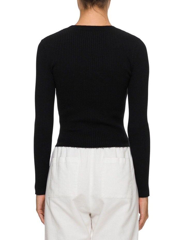 Nude Classic Knit Black image 3