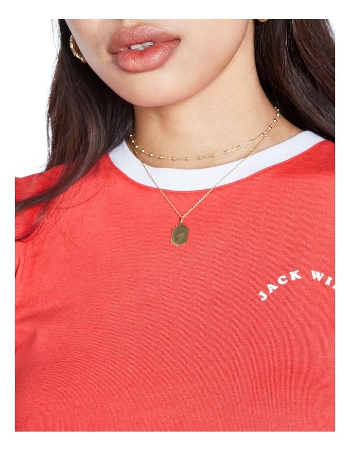 Trinkey Ringer T-Shirt image 4