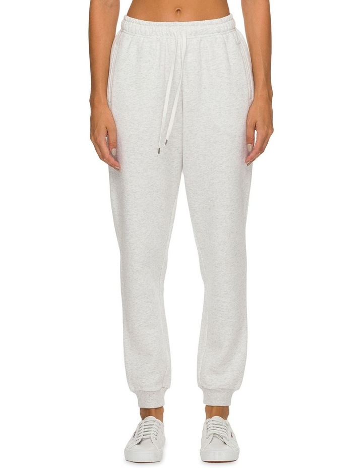 Carter Classic Trackpant Snow Marle image 1