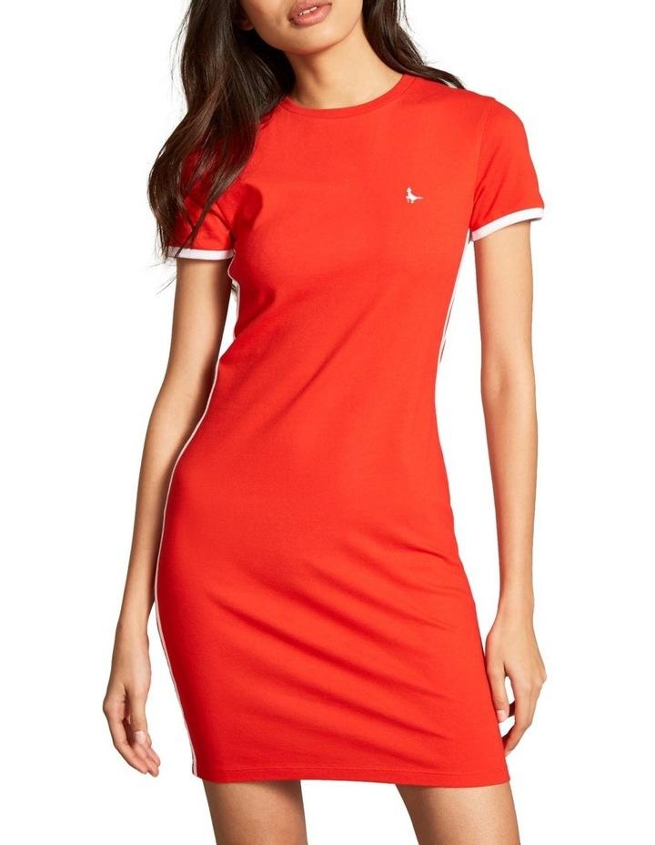Goodrington Side Stripe Ringer Dress image 1