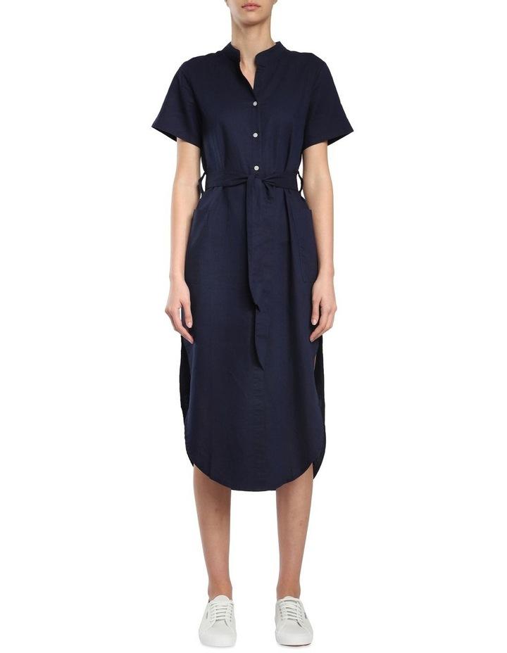 Maya Linen Maxi Dress image 1