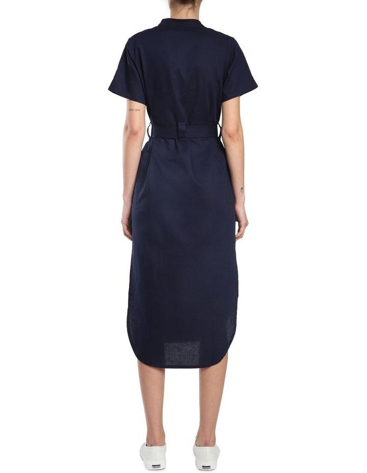 Maya Linen Maxi Dress image 3