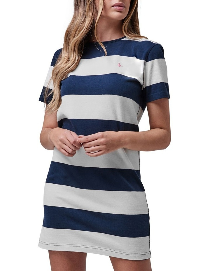 Codery Rugby Stripe Dress image 4