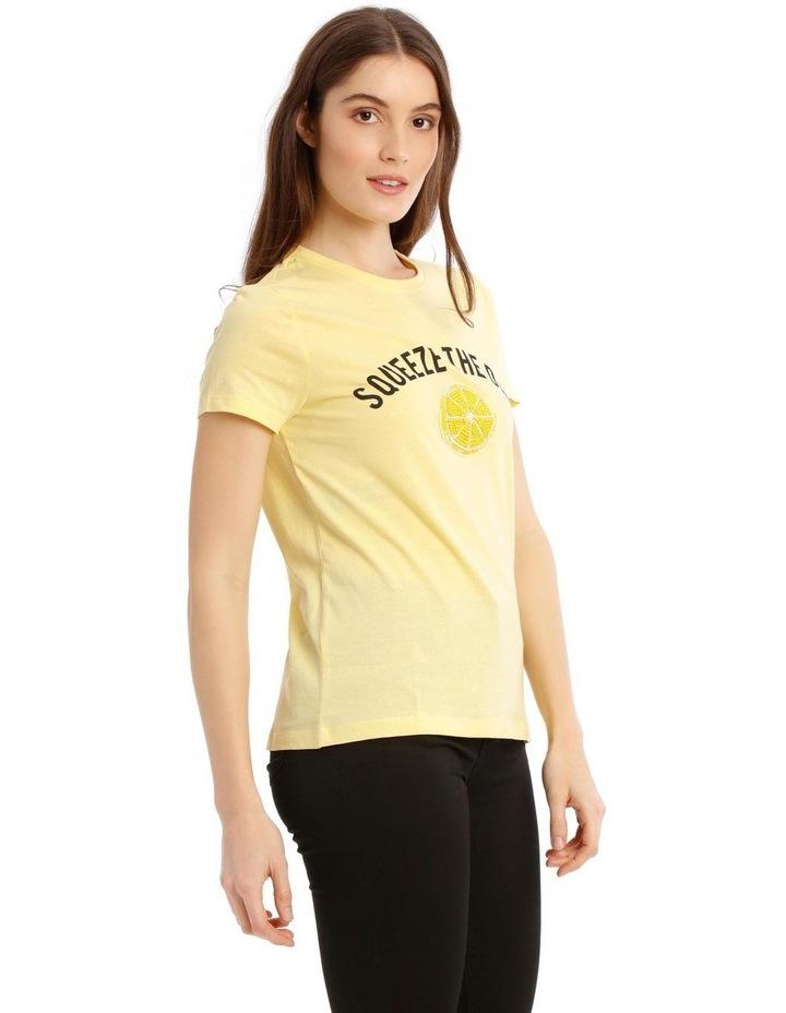 Kita Reg Short Sleeve Lemon Box image 2