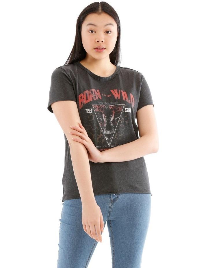Lucy Rock Acid Wash T-Shirt image 1