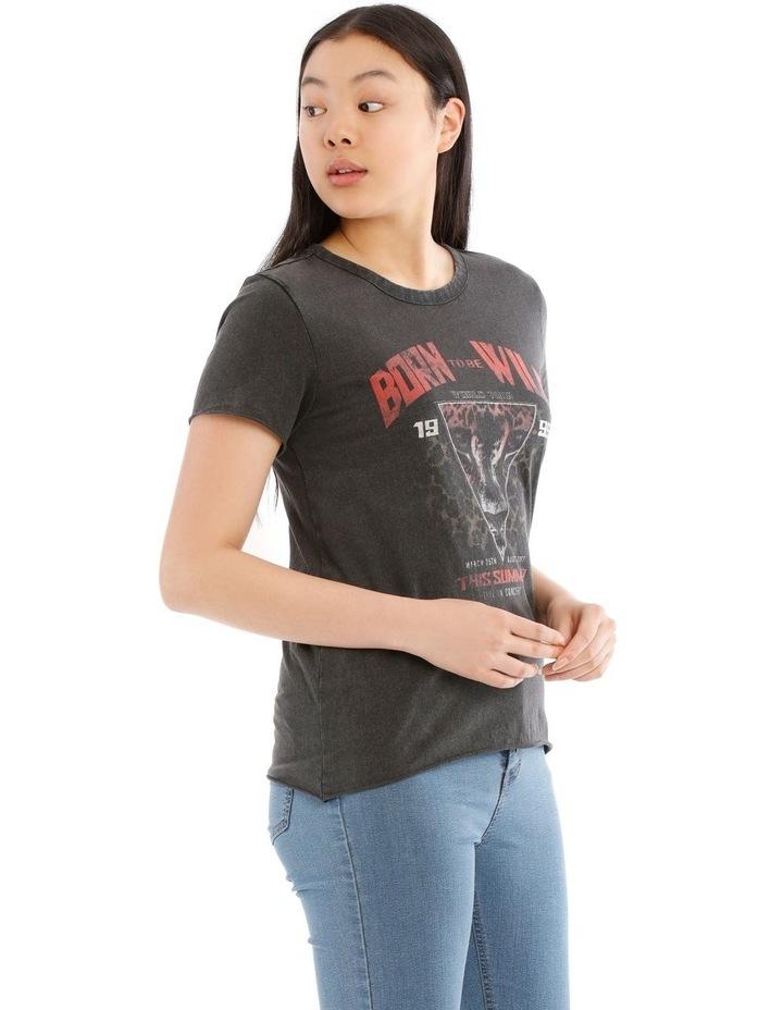 Lucy Rock Acid Wash T-Shirt image 2