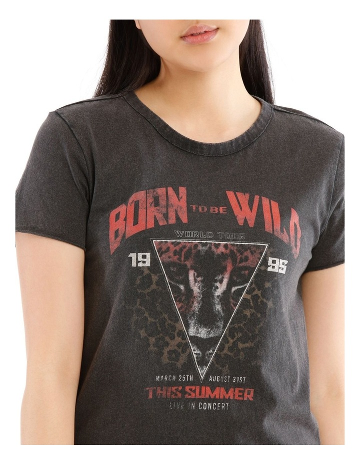 Lucy Rock Acid Wash T-Shirt image 4