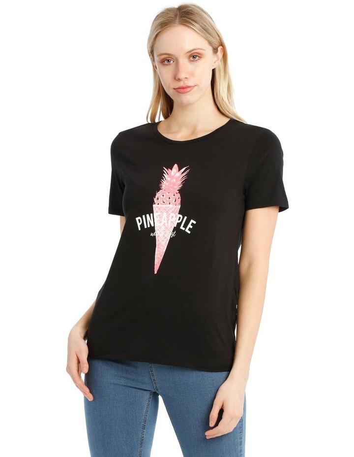 Banja Neon Print T-Shirt image 1