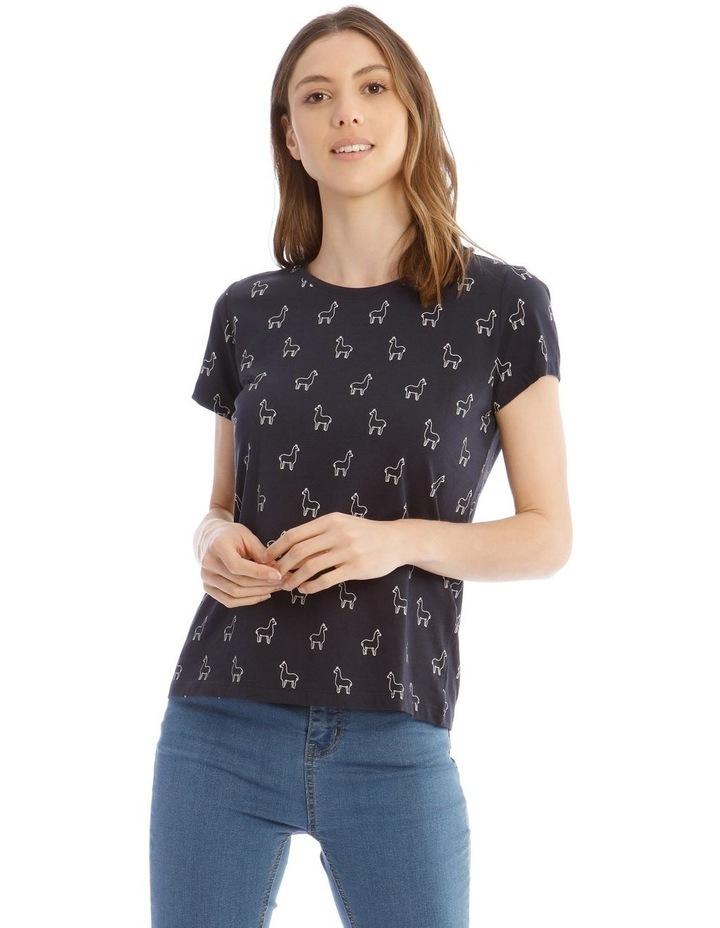 Happy Lama T-Shirt image 1
